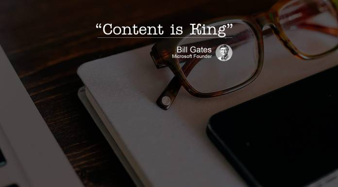 Контент - это король. - Слова Билла Гейтса