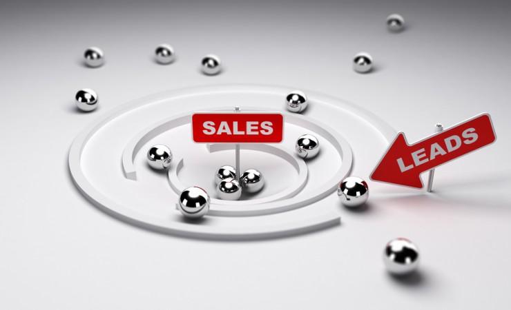 лиды попадают в воронку продаж