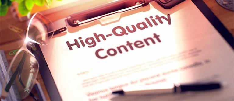 Как создать качественный контент?